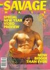 Savage Male # 4 magazine back issue