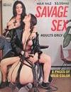 Savage Sex Vol. 4 # 2 magazine back issue
