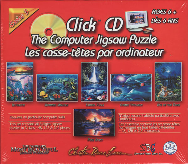 CD jigsaw puzzel computer games 6 in 1 cristin reese lassin photos 3 sizes by piece count clickcdthecomputerjigsawpuzzleseries3