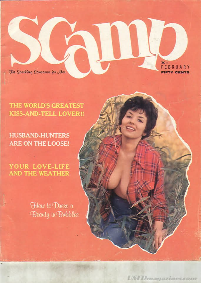 Scamp February 1963 magazine back issue Scamp magizine back copy