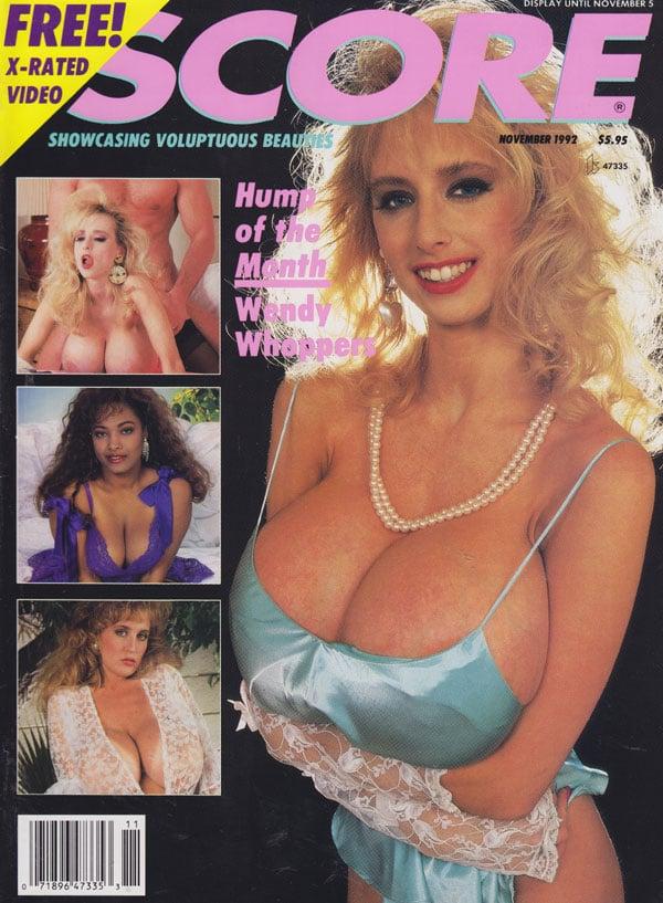 Score November 1992 magazine back issue Score magizine back copy score ...