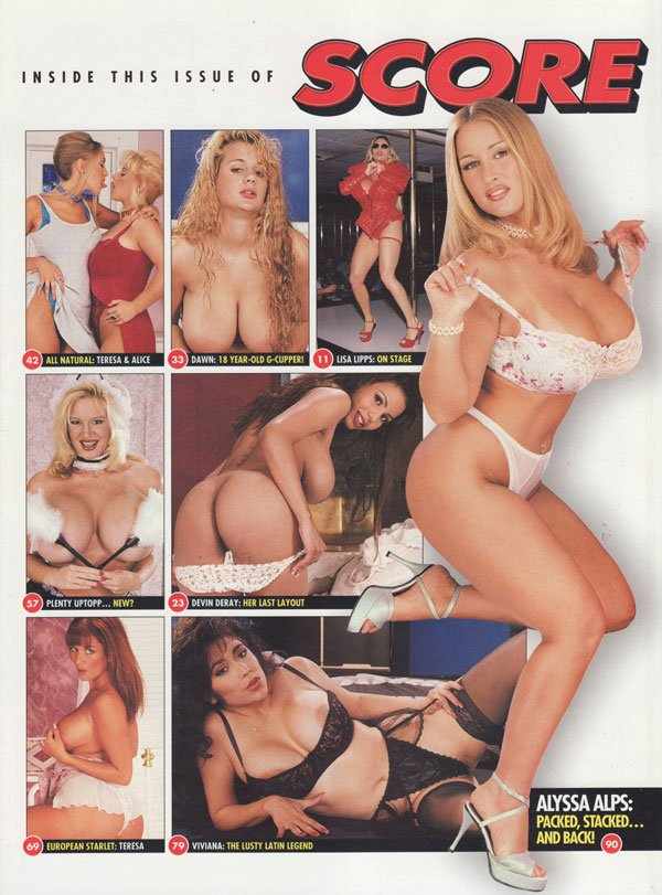 Score magazine score magazine 1997 back issues big boobs hot huge titters plenty uptopp curvy busty ladies xxx pics