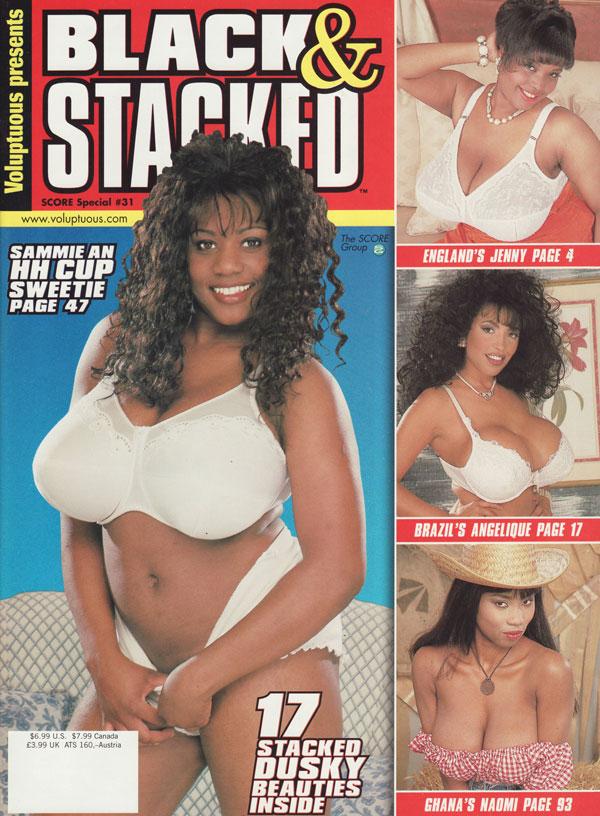 black scoreland jenny - Score Special # 31 - Black & Stacked magazine back issue Score Special  magizine back copy