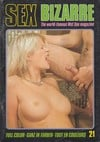 Sex Bizarre # 21 magazine back issue