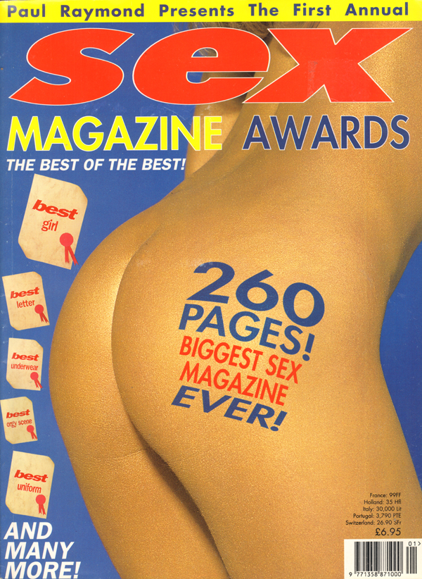 Sex Magazine Awards # 1 thumbnail