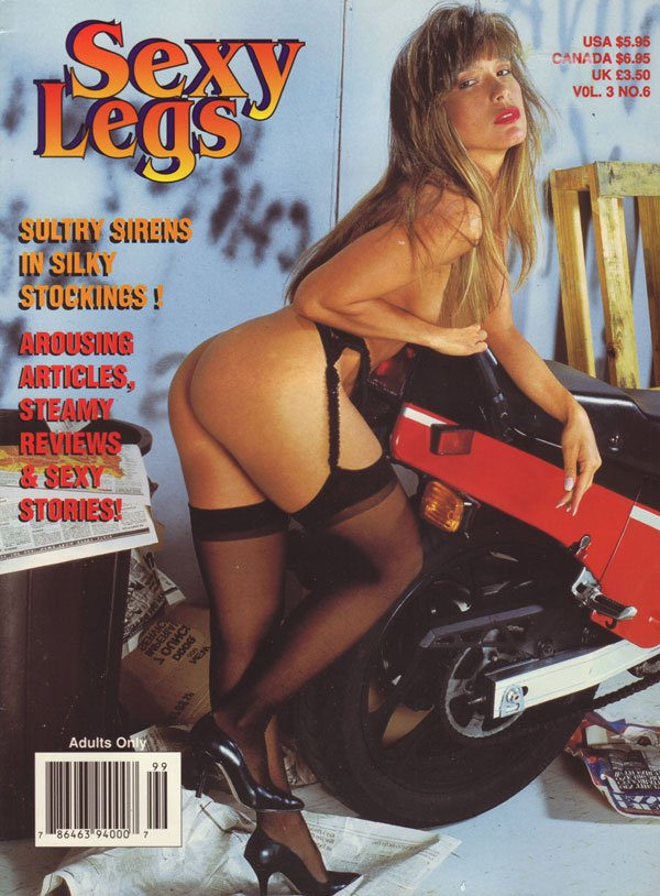 Sexy Legs Vol. 3 # 6 magazine back issue Sexy Legs magizine back copy sexy legs magazine back issues 1998 silky stockings tanned legs toes feet fetish mag girls explicit