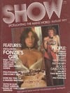 Show August 1977 magazine back issue cover image