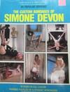 Custom Bondages of Simone Devon # 1 magazine back issue
