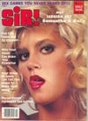Sir April 1984 magazine back issue