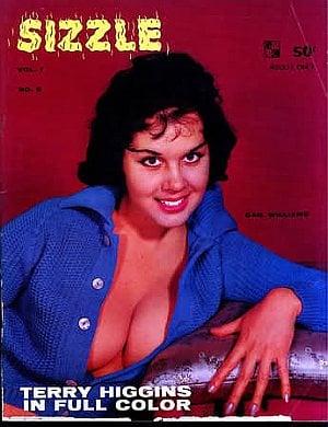 Sizzle Vol. 1 # 5 magazine back issue Sizzle magizine back copy