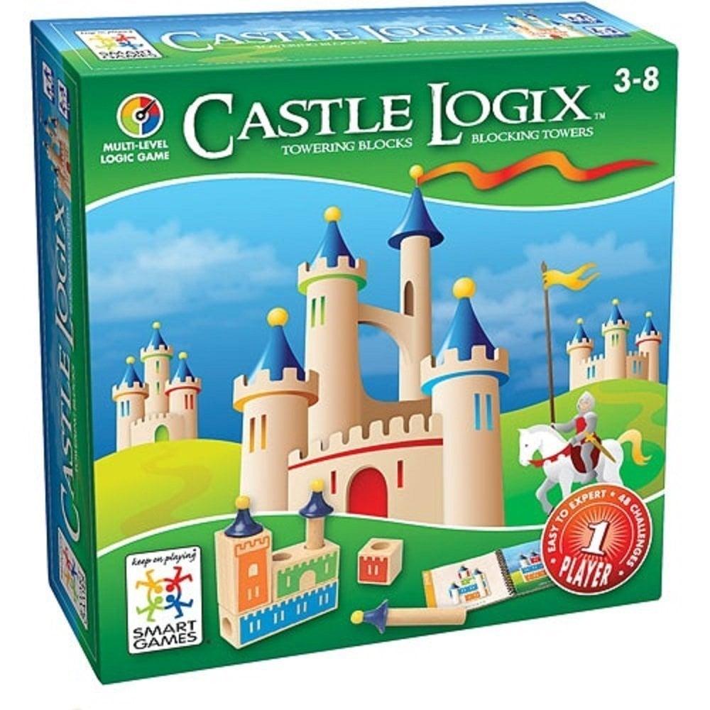 Castle Logix Blocks! Logic Game Made by Smart Games castle-logix