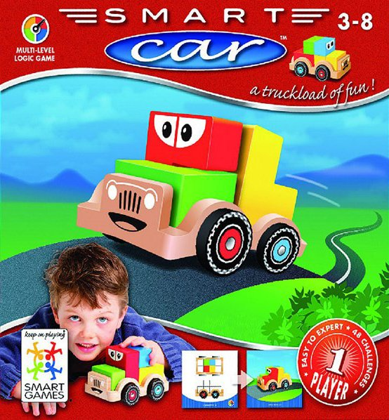 Smart Car, Multi-Level Logic Game Made by Smart Games smart-car-logic-game