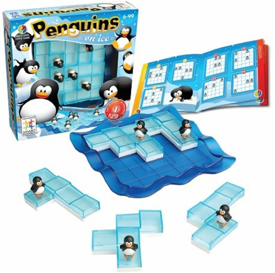 Penguins on Ice, Multi-Level Logic Game Made by Smart Games penguins-on-ice-logic-game