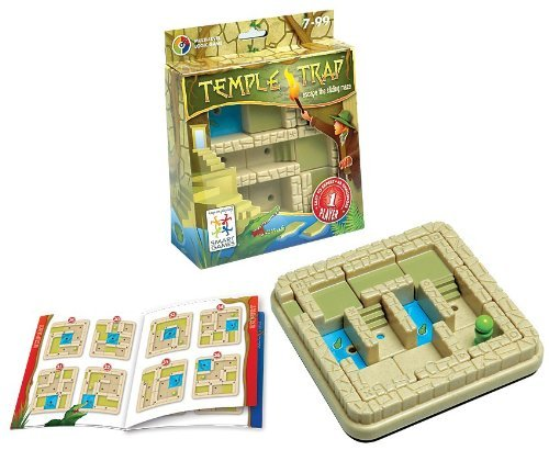 Temple Trap. Multi-Level Logic Game Made by Smart Games temple-trap