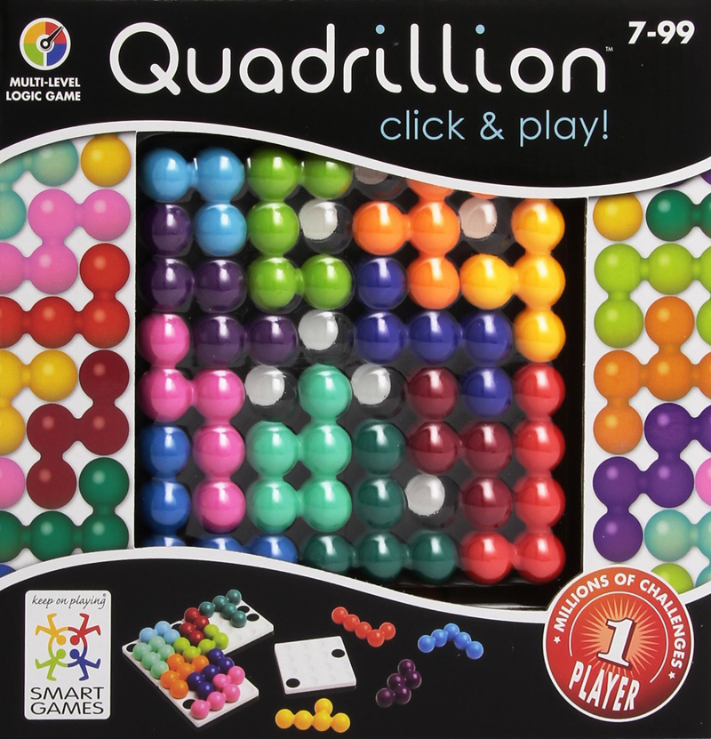 Quadrillion. Click & Play! Logic Game Made by Smart Games quadrillion