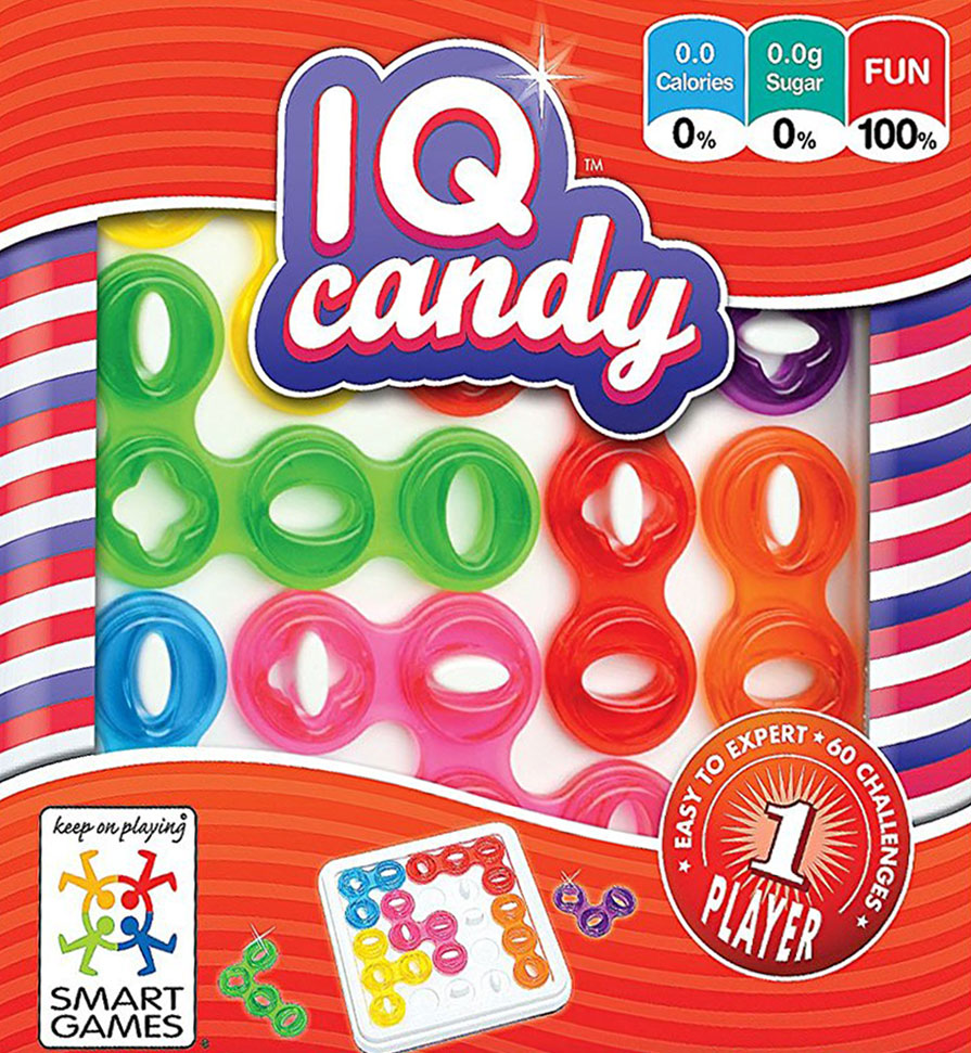 IQ Candy! Logic Game Made by Smart Games iq-candy
