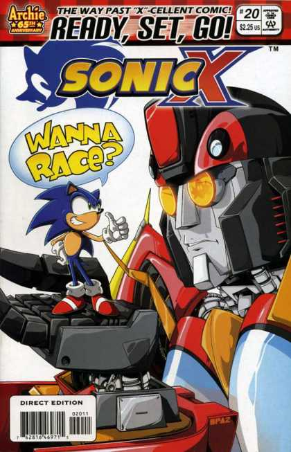 Sonic X A1 Comix Comic Book Database