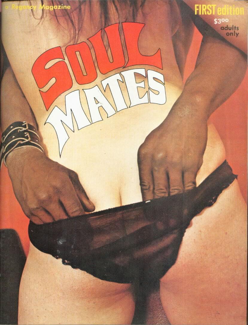 Soul Mates # 1 magazine back issue Soul Mates magizine back copy