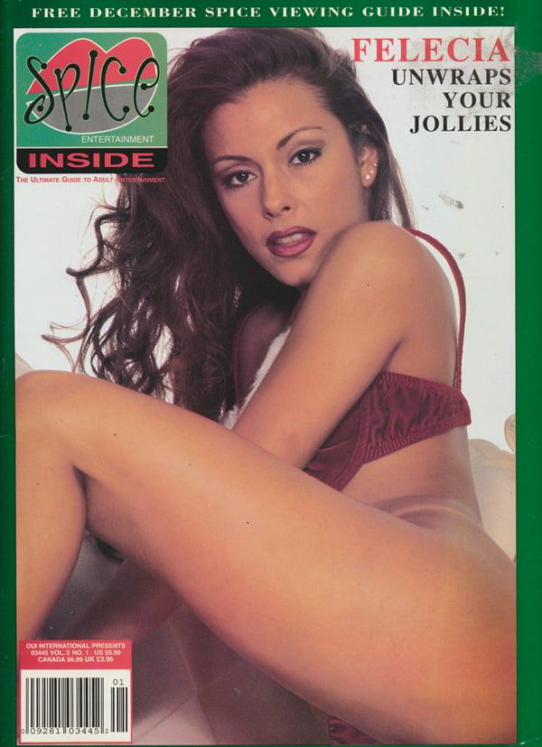 Spice Inside Vol. 2 # 1 magazine back issue Spice Inside magizine back copy