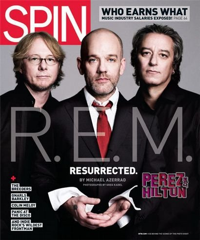 Spin April 2008 magazine back issue