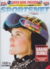 Sportsnet February 13, 2012 magazine back issue cover image