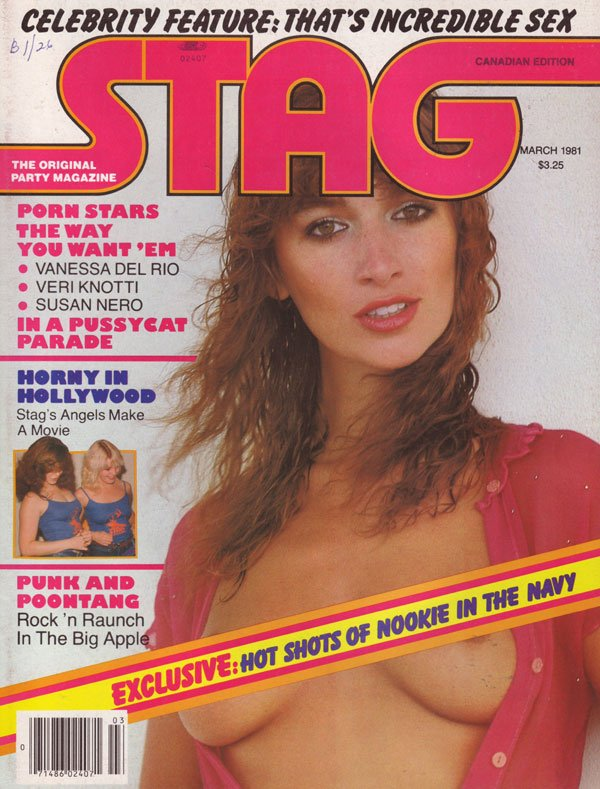 Stag March 1981 magazine back issue Stag magizine back copy stag magazine back issues horny nude women xxx porn star photos explicit erotic nude pictorials hot