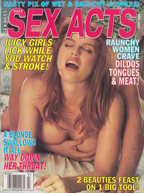 Stag July 1994 - Sex Acts Magazine Back Issue Stag Wonderclub-2731