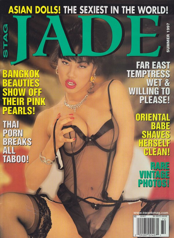 Stag Summer 1997 - Jade magazine back issue Stag magizine back copy stag special magazine jade summer 1997 back issues bangkok beauties oriental babes xxx pix thai porn