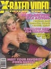 Stephanie Rage Stag March 1988 - X-Rated Video magazine pictorial