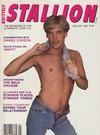 Stallion January 1986 magazine back issue