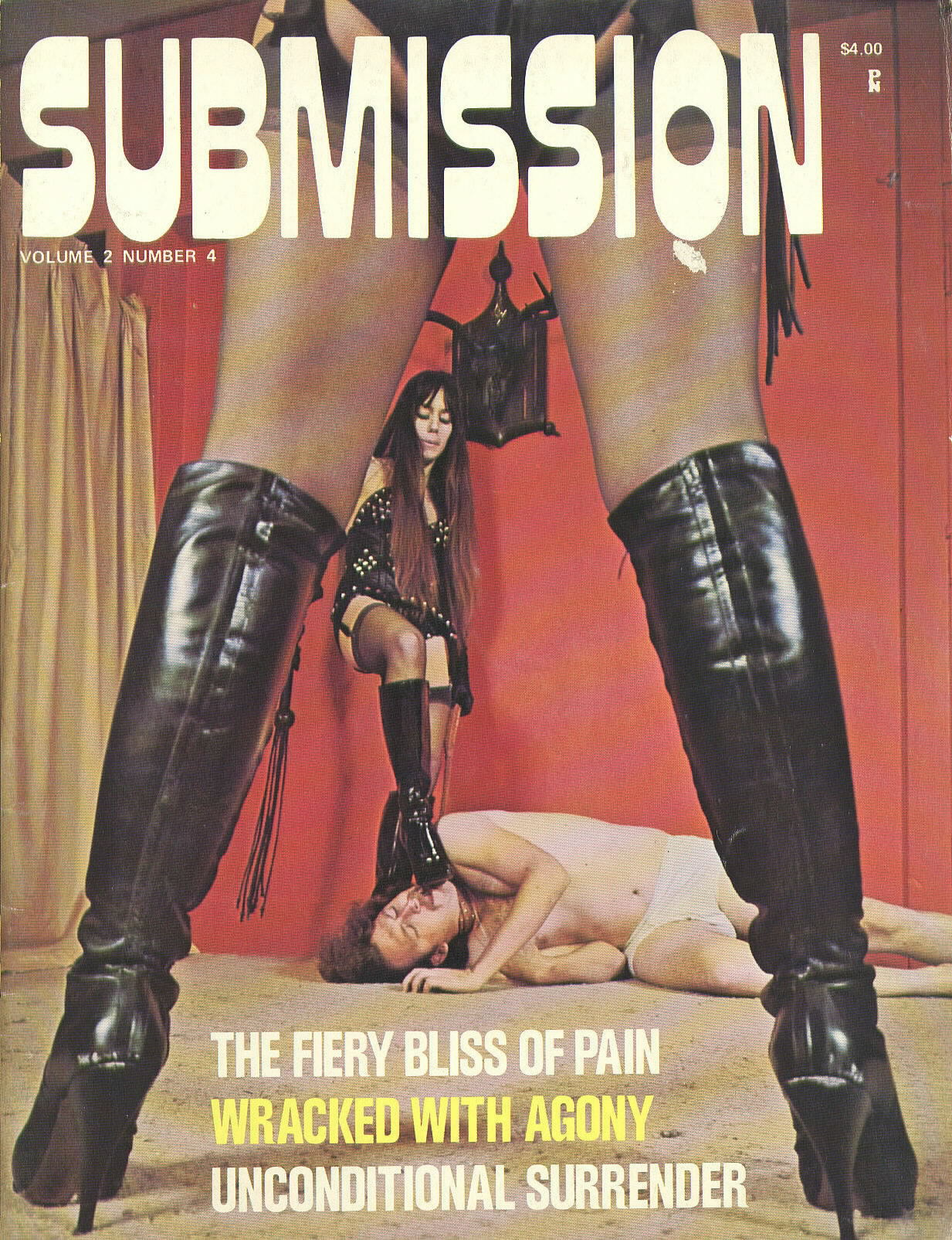 Submission Vol. 2 # 4 magazine back issue Submission magizine back copy