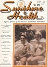 Sunbathing and Health December 1949 magazine back issue cover image