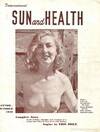 Sun and Health September 1949 magazine back issue