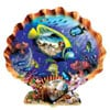 Souvenirs of the Sea painted by Lori Schory 1000 piece jigsaw puzzle manufactured by suns out Puzzle