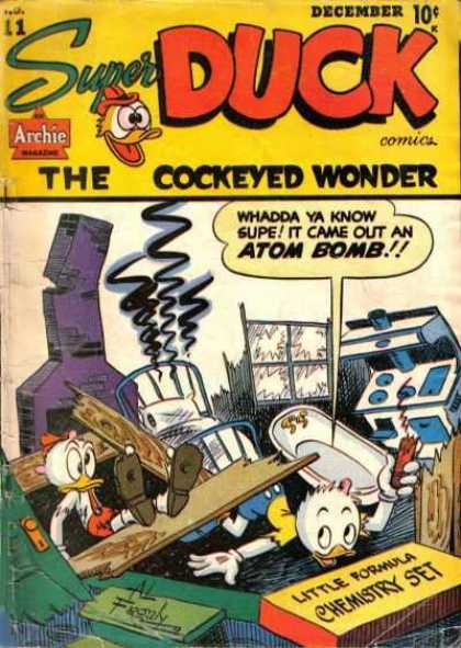 Super Duck A1 Comix Comic Book Database
