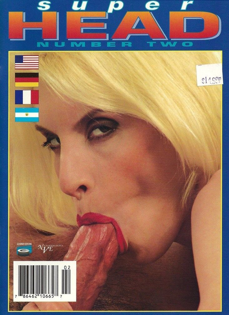 Super Head # 2 magazine back issue Super Head magizine back copy