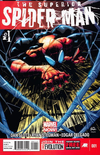 Superior Spider-Man Comic Book Back Issues by A1 Comix