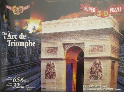 arc de triomphe 3 d puzzle 3 dimensions difficult champs elysees jean chalgrin historic monument fra 3d-puzzle-arc-de-triomphe