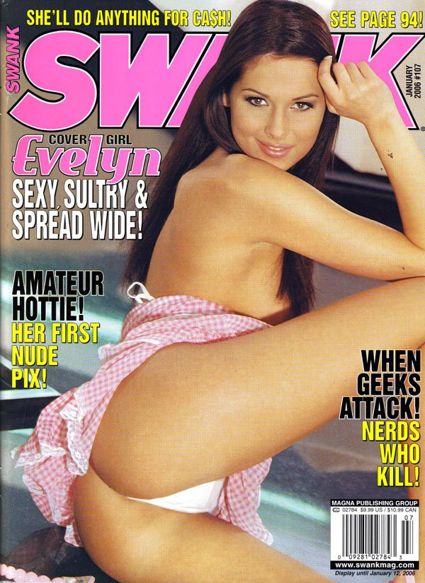 Swank # 107 - January 2006 magazine back issue Swank magizine back copy Swank Used Adult Magazines Back Issues for Collectors HardcoreSex