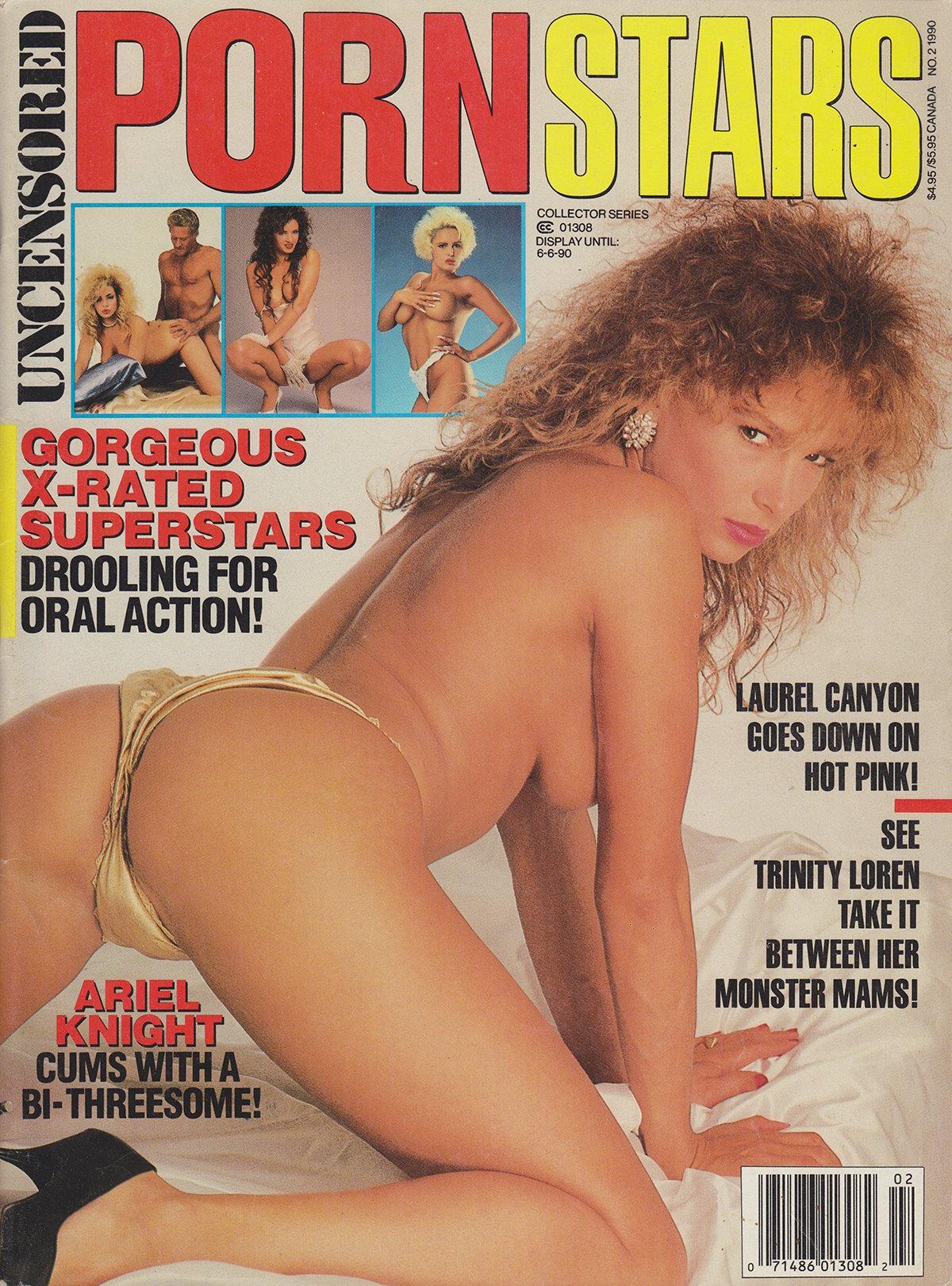 Swank Collector Series June 1990 - Uncensored Porn Stars magazine back issue Swank Collector Series magizine back copy