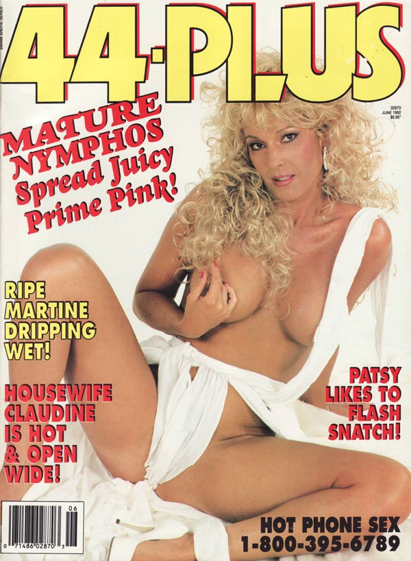 Swank Erotic Series June 1992 - 44 Plus magazine back issue Swank Erotic Series magizine back copy mature nymphos spread juicy prime pink ripe martine dripping wet houswife claudine is hotand open wi