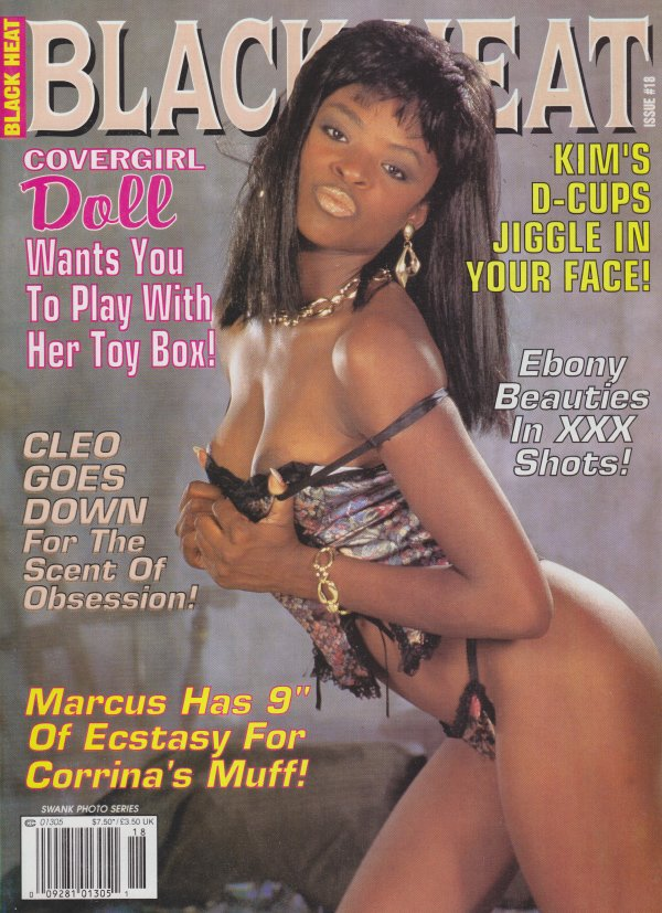 Swank Photo Series # 18 - Black Heat magazine back issue Swank Photo Series by Number magizine back copy