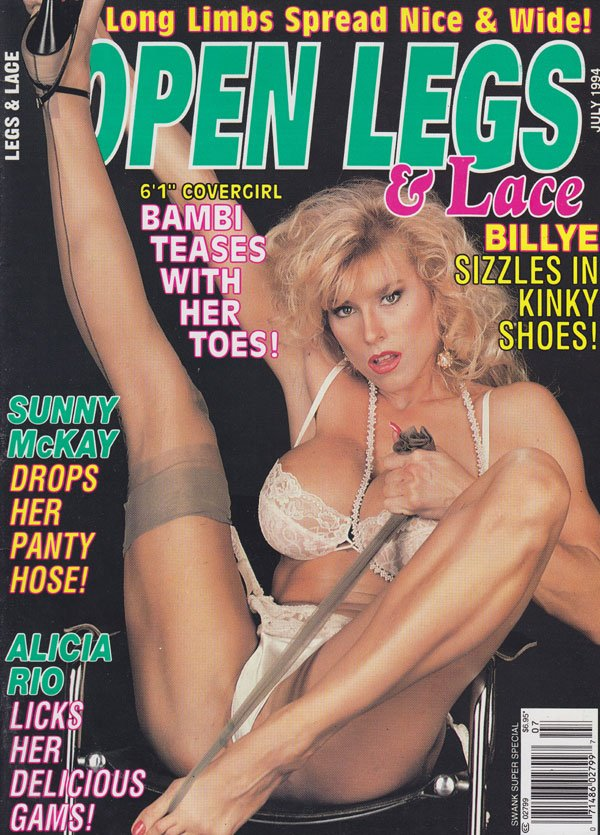 Swank Super Special July 1994 - Open Legs magazine back issue Swank Super ...