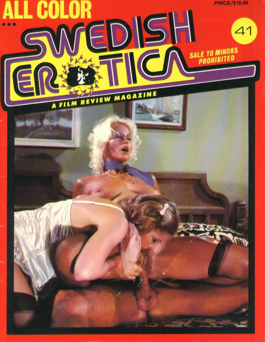 Swedish Erotica # 41 magazine back issue Swedish Erotica magizine back copy