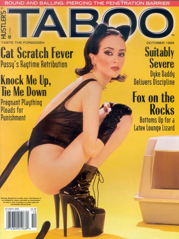 Only hustlers taboo magazine september 1999 covergirl