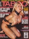 Taboo November 2007 magazine back issue
