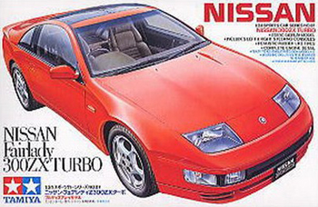 nissan fairlady 300zx turbo tamiya plastic model kit 1 24th scale nissan-fairlady-300zx-turbo-1-24