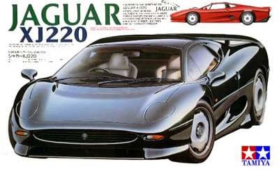 jaguar xj 220 tamiya plastic model kit 1 24th scale jaguar-xj-220-tamiya