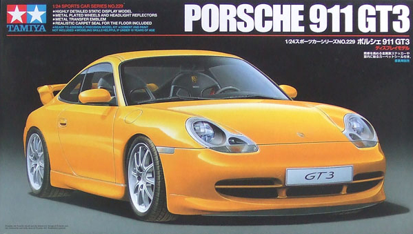tamiya plastic model kit porsche 911 gt3 1-24th scale porsche-911-gt3