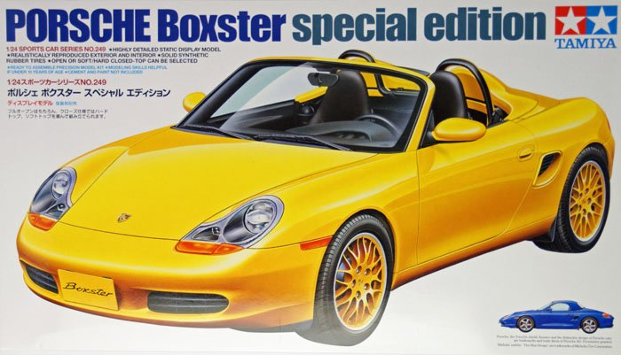 tamiya plastic model kit porsche boxster special edition 1 24th scale porsche-boxster-special-edition